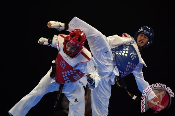 Indonesian taekwondoin win four gold medals in Japan