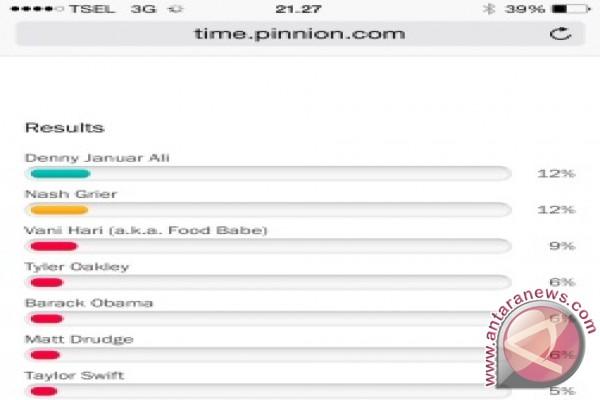 Denny JA urutan kesatu dalam list di TIME 095c9a4442