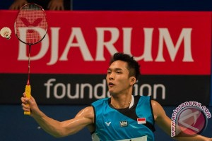 Jonatan tumbang di putaran kedua Kejuaraan Asia