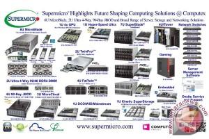 Super Micro hadirkan dua server baru di Computex