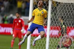 Brasil - Ekuador imbang 0-0 di babak pertama Copa America