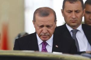 Erdogan bersumpah Turki tak akan lemah hanya karena bom