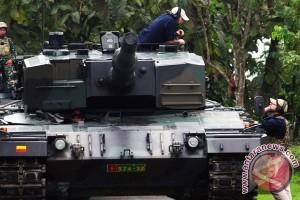 TNI AD lakukan embarkasi tank Leopard ke Natuna