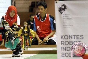 58 tim ikuti lomba robot di Pekanbaru