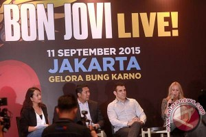 Ini harga tiket konser Bon Jovi di Jakarta