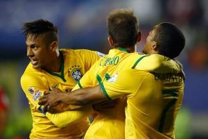Brasil unggul 4-0 atas Bolivia di babak pertama