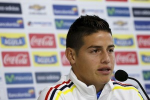 Manchester United siap boyong James Rodriguez