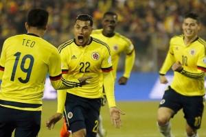 Kualifikasi Piala Dunia, Kolombia hajar Ekuador 3-1