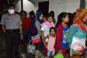 Sebanyak 22 TKW diamankan di Bandara Palu