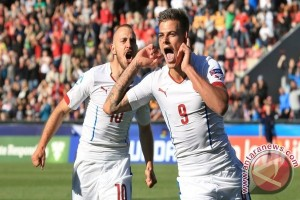 Euro U-21: Trigol Jan Kliment antar Ceko lumat Serbia 4-0