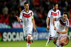 Euro U-21: Jerman libas Denmark tiga gol tanpa balas