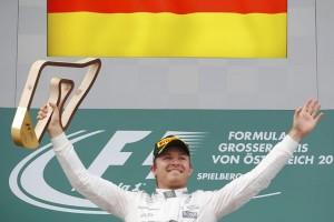 Rosberg meraih kemenangan di Grand Prix Belgia