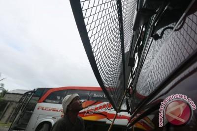 Antisipasi Pelemparan Bus Mudik