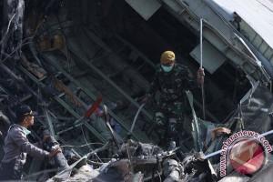 30 kantong jenazah korban Hercules dipindahkan ke RS Bhayangkara Polda Sumut