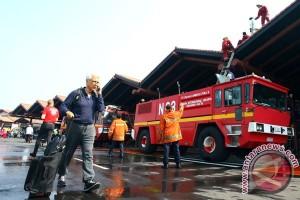 Kebakaran terjadi di Terminal 2E Bandara Soekarno-Hatta