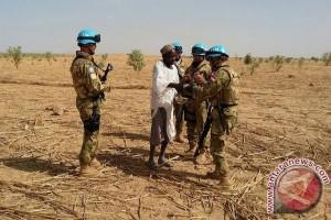 110 prajurit TNI naik pangkat di Darfur