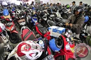 Program balik gratis, 1.080 motor diangkut dari Yogyakarta ke Jakarta