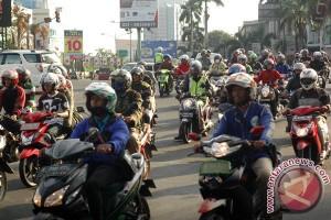 Check point mudik di Bekasi sepi