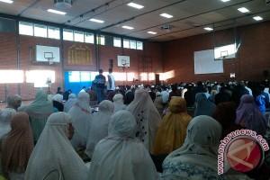 Ukhuwah Islamiah  di masjid Indonesia Al Hikmah Den Haag