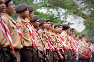 Presiden resmikan Jambore Nasional X di Cibubur