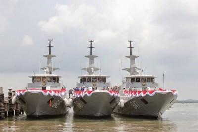 Tiga kapal cepat berudal perkuat Perairan Kepri