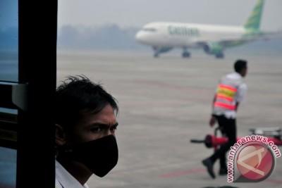 Asap Ancam Penerbangan Pekanbaru