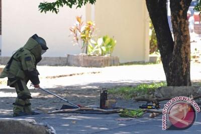 Gegana ledakkan bom rakitan yang ditemukan di Citarum