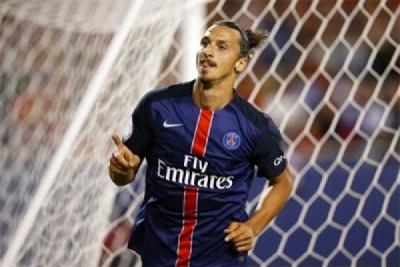 Ibrahimovic pencetak gol terbanyak Liga Prancis