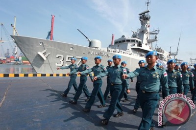 "KRI Bung Tomo-357 raih predikat ""perfection"""