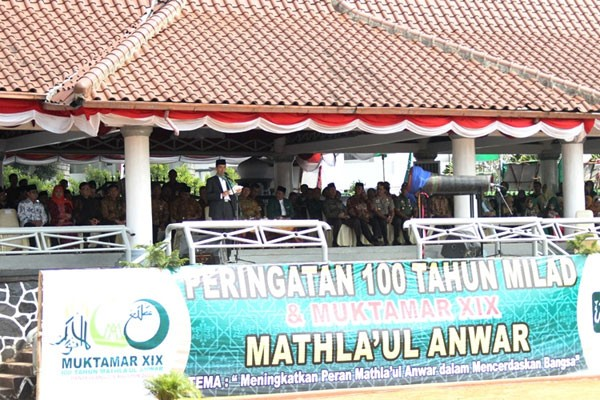 Mathla`ul Anwar akan terus