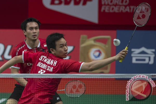 Hendra/Ahsan tembus putaran final Thailand Masters