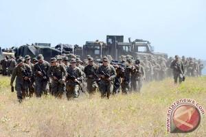 Marinir Indonesia-Amerika berbagi ilmu bertahan hidup