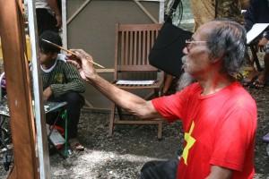 Masyarakat Rusia kagumi benda seni Indonesia