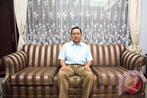 Boediono: demokrasi akan jalan kalau ada kepemimpinan