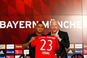 Arturo Vidal tetap bersama Bayern, Renato Sanches boleh pergi