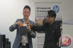 HP rilis empat desktop mini