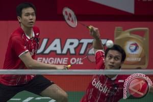 Hendra/Ahsan menang cepat pada awal Thailand Masters
