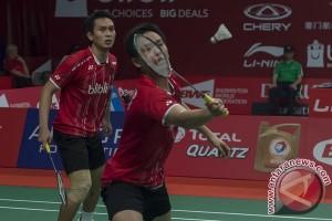 Hendra/Ahsan rebut tiket ke perempat final Kejuaraan Dunia