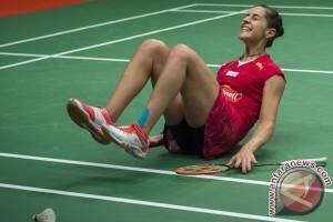 Wang Yihan hentikan Carolina Marin