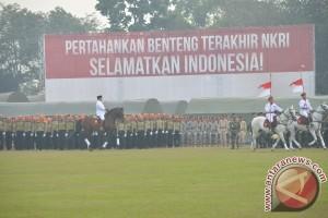 Prabowo pimpin upacara HUT RI di Jagorawi