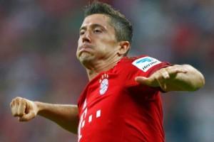 Lewandowski pencetak gol terbanyak sementara Liga Jerman