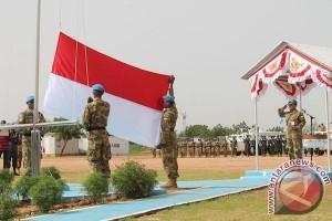 800 prajurit TNI berangkat ke Darfur Sudan