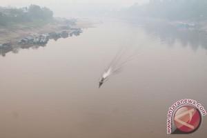 Pedalaman Sungai Barito kembali dilayari kapal besar