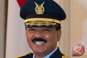 Hadi Tjahjanto dilantik menjadi KSAU