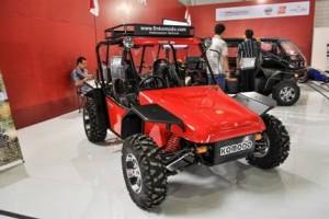 IIMS tampilkan kendaraan offroad Fin Komodo asli buatan Cimahi