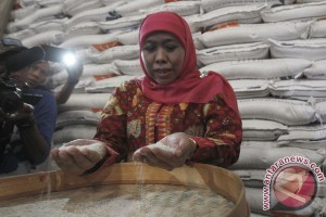 Mensos tegaskan stok beras sejahtera aman hingga Lebaran