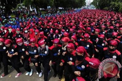 Demo Buruh Jakarta