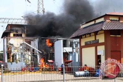 Kebakaran Gardu Induk PLN