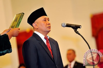 Teten Masduki dilantik jadi kepala staf kepresidenan