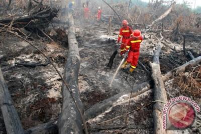 Hampir semua Pulau Sumatera tertutup asap